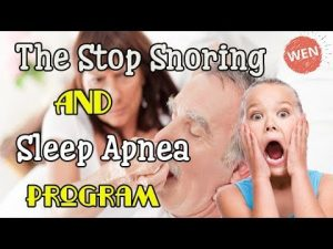 Stop Snoring and Sleep Apnea Program By Christian Goodman