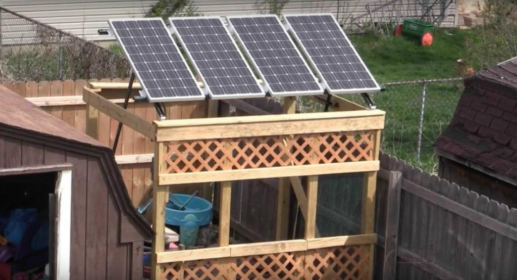 mini solar power panels for home